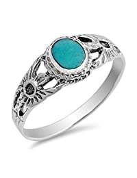 925 Sterling Silver Ring With Stone