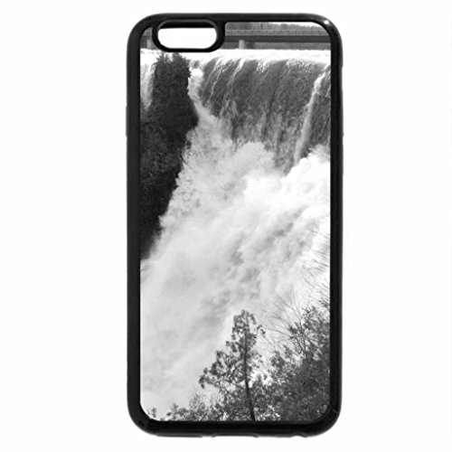 iPhone 6S Plus Case, iPhone 6 Plus Case (Black & White) - Raging Kakabeka Falls