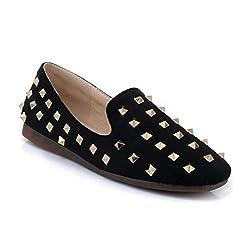 Rivet Flat Ballet Slip-on Loafers