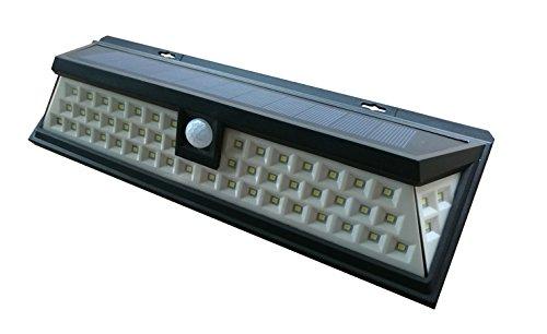 PRIGER Solar Outdoor Lights 54 LED, Super Bright exterior pa