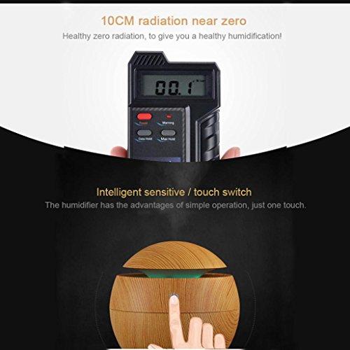 Mini Humidifier,Air Purifiers,USB Wood Grain Aromatherapy Humidifier Office Desktop Mini Perfume Machine Ultrasonic Humidifier Brown (Brown) by Appoi (Image #2)