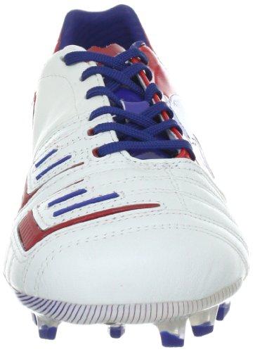 Puma  PowerCat 1.12 FG, Chaussures de football homme - Blanc - Weiss (white-ribbon red-limoges 05), 44.5 EU