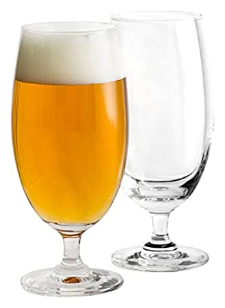 Sagaform 5017608 Decorated beer glasses 4 Pack Clear