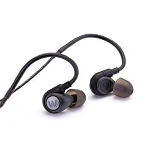 Westone Alpha Adventure 6.5mm Mirco Driver In-Ear Earphones - IPX Weather Resistant with 3 AWACS Reflective Cable and Microphone
