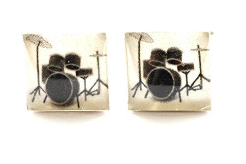 Drum Cufflinks, Band Cufflinks, Music Cufflinks