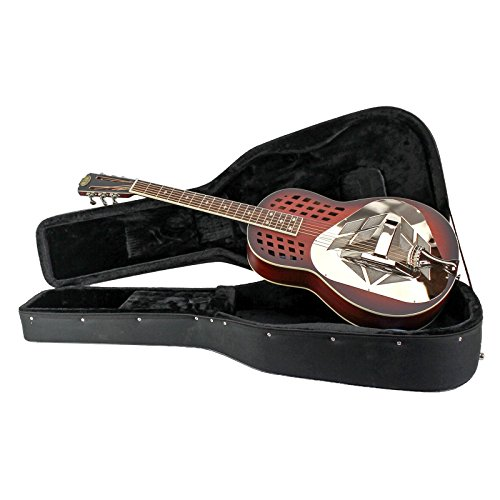 Royall Trifonium Flame Maple Tricone Resonator Guitar with Case (Tricone Resonator)