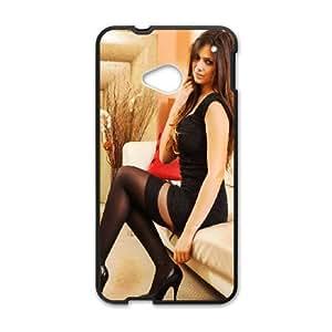 HTC One M7 Cell Phone Case Black Louisa Marie VIU038541