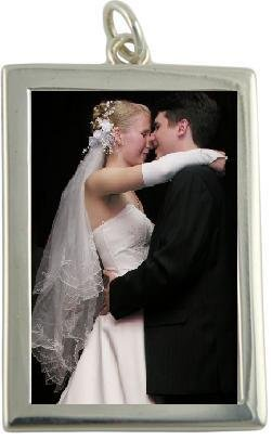 Wedding Bouquet Silver Plated Rectangle product image