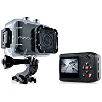 Foscam AC1080 Action Camera - HD 1080P, 12MP 3x Rapidshot, 170° Viewing Angle