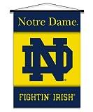 NCAA Notre Dame Fighting Irish Indoor Banner Scroll