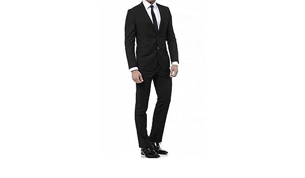 keskin collection - Pantalón de traje - para hombre negro 52  Amazon.es   Ropa y accesorios 5cd1bf92611
