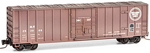 (Micro-Trains MTL Z-Scale 50ft Rib Side Box Car Missouri Pacific/MP/MoPac #253668)