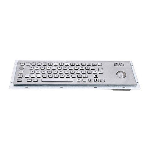 - Stainless Steel Keyboard, Function Keys and trackball, 83 Keys, (US Layout) LBKB35005-US
