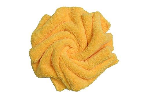 CARCAREZ Microfiber Car Wash Drying Towels Professional Grade Premium Microfiber Towels for Car Wash Drying 16 in.x 16 in. Pack of 6 by CARCAREZ (Image #1)