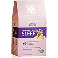 Valerian Tea for Sleep - Herbal Tea with Valerian root, Chamomile and Lavender- Bedtime Tea for Sleep aid - This Sleep Tea helps fall & stay asleep - 40 Servings by Secrets of Tea