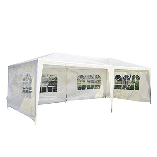 Senrob Canopy Tent Removable Sidewalls Windows Outdoor Beach Wedding Party Car Activity Event (10' x 20'(36.4 lbs )) by Senrob