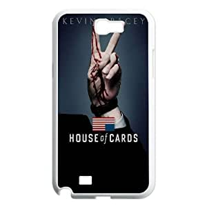 House Of Cards Samsung Galaxy N2 7100 Cell Phone Case White phone component RT_376745