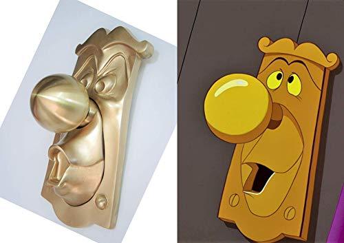 LaRetrotienda  Alice in Wonderland Mr. Doorknob. Functional door knob set. Single face or complete - Functional Door