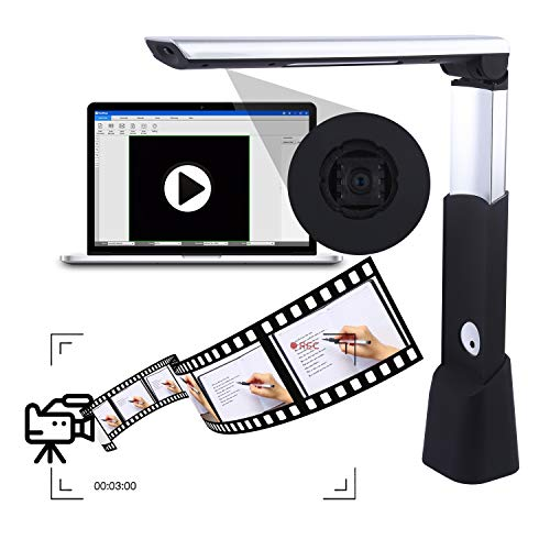 Wangtong Document Camera/Scanner,10 Mega Pixels CMOS, 720P HD Recording, Smart OCR Function Max A3 Size, USB Portable for School,Office, Lab by Wantong (Image #5)