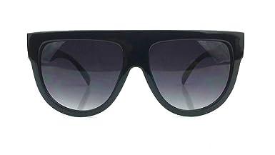 celine mini luggage tote beige - Amazon.com: Flat Top Square Aviator Gradient Frame Sunglasses ...