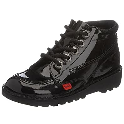 Kickers Kick Boot - Zapatos, color Rojo, talla 12.5 Uk/31 Eu