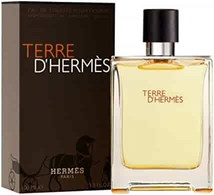 Hermès Men's Terre d'Hermès Eau de Toilette Spray, 3.3 fl. oz.
