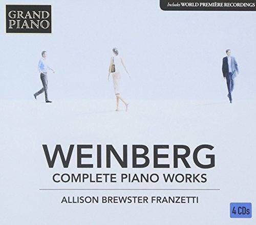 Mieczslaw Weinberg: Complete Piano Music by Allison Brewster-Franzetti ()
