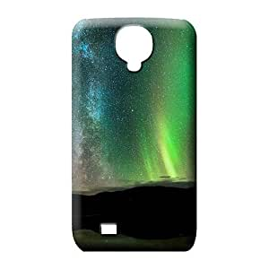 samsung galaxy s4 case Scratch-proof style mobile phone shells colorful aurora polar light polarization