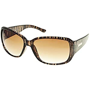 Nine West Womens Plastic Mod Square Sunglasses One Size Brown