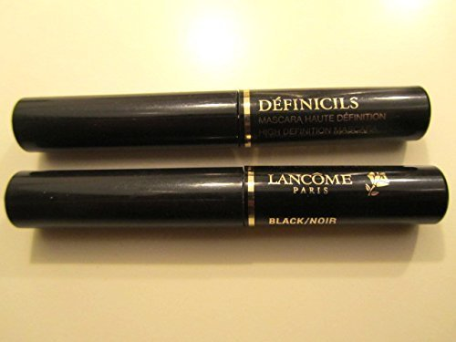 Set of Two Travel Size Definicils High Definition Mascara in Black, .07 Oz Each