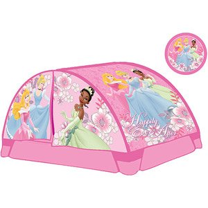 Disney Princess Twin Bed Tent With Bonus Flash Light  sc 1 st  Amazon.com & Amazon.com : Disney Princess Twin Bed Tent With Bonus Flash Light ...