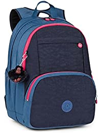 Hahnee Large Backpack Navy Blue Blk