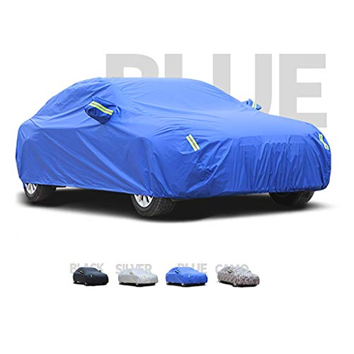 Yguocy Car Covers, Thick and Cotton Velvet Hood, Compatible with Audi A3, Can Adapt to All Kinds of Weather (Color : C, Size : 2010 Sportback 1.4/1.8T)