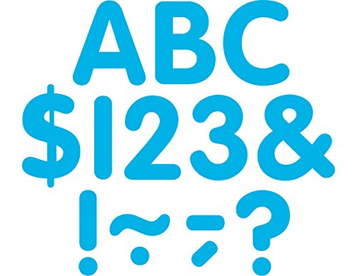Teacher Created Resources Aqua Classic 2-Inch Letters Uppercase Pack (5564)