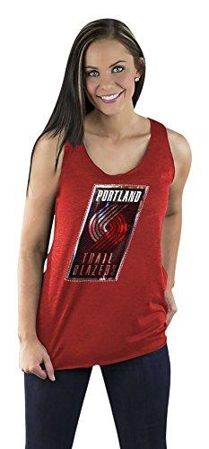 Couture Blazer (NBA Portland Trailblazers Women's Racerback Tank, Medium,)