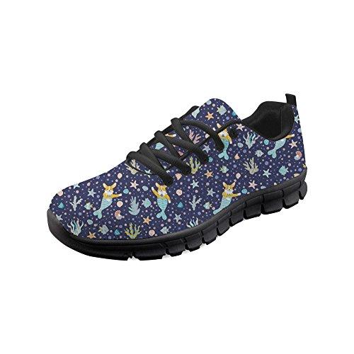Flower Athlètes Chaussures Les En Design Sport Animal De Womemlightweight Course Extérieur Showudesigns Sneaker Corgi OTwYW