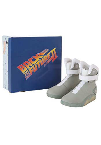 e5849a6be9c4a Amazon.com  Fun Costumes Back to the Future 2 Light Up Movie Shoes  Clothing