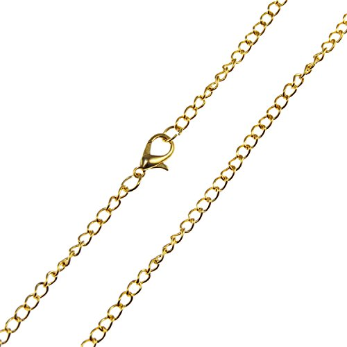 Bulk Sales 20Pcs Wholesales lots Jewelry Making Chains 28' Silver Gold from Heart charm