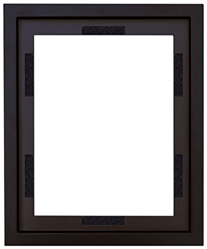 MCS 16x20 Inch Frame To Mount Finished Canvases, Black (40004) by MCS