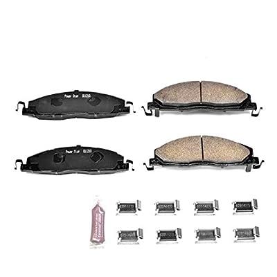 Power Stop Z23-1400, Z23 Evolution Sport Carbon-Fiber Ceramic Rear Brake Pads: Automotive