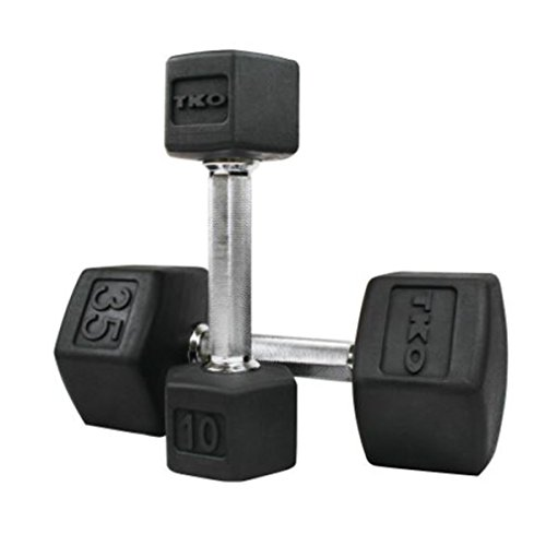 Cheap SDS Rubber HEX Dumbbell 3 lbs (SINGLE/EACH)