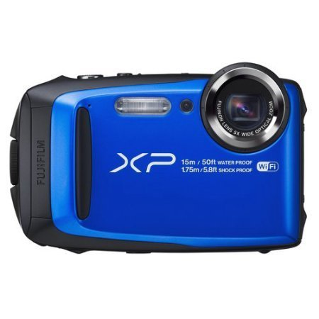 Fujifilm FinePix XP95 Waterproof Digital Camera, Blue