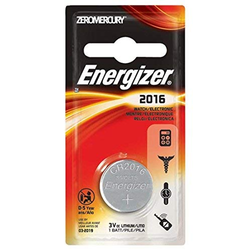 Energizer CR2016 Lithium Battery (1 Battery)