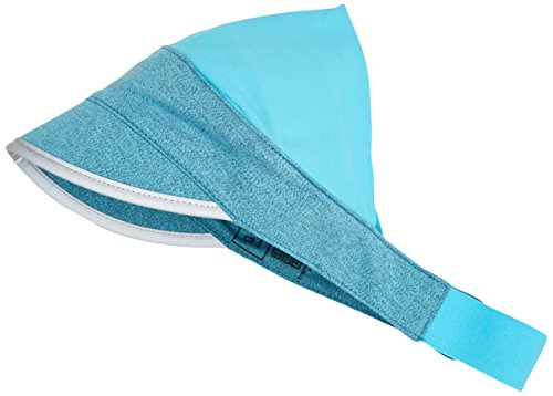 GORE RUNNING WEAR Unisexe Visière de Course, Respirant, Gore Selected Fabrics, ESSENTIAL Half Cap, Taille Unique, Blanc, HCORLA Blu