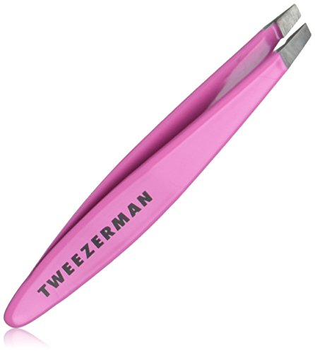 Tweezerman LTD Mini Slant Tweezer (Pack of 1) (Colors