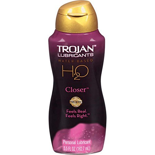 (Trojan Lubricants H2o Closer Water Based Personal Lube Feels Real Feels Right : Size 5.5 Oz)