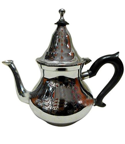 Tea Serving Moroccan Serving tea Pot hand made Serving Kettle Large 38 Oz (Pot Coffee Oz 38)