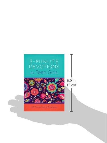 3-Minute-Devotions-for-Teen-Girls-180-Encouraging-Readings