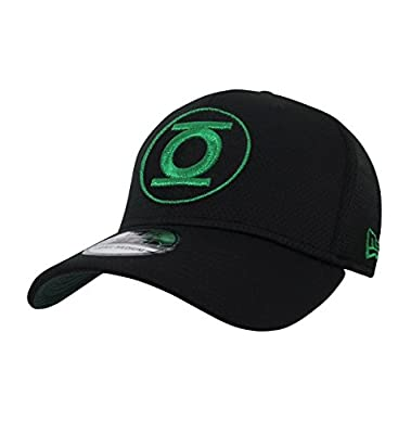 New Era Green Lantern John Stewart Symbol 39Thirty Fitted Hat