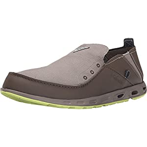 Men's Columbia Bahama Vent PFG Slip-on Boat Shoes, KETTLE/TIPPET, 10.5D